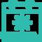 Icône représentant l'activité saisonnière et de débord qui pourrait mener à utiliser les services proposées par l'entreprise Nordbox, spécialiste de location de box et de bureaux à Tourcoing